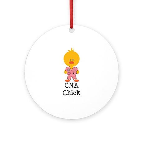 CNA Chick Ornament (Round)