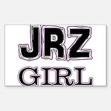 JRZ Girl Rectangle Decal