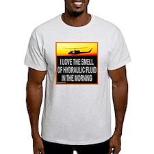 SMELL OF HYDRAULIC FLUID T-Shirt