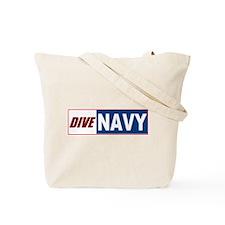 Navy MMS Tote Bag
