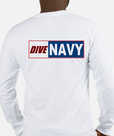 Navy MMS Long Sleeve T-Shirt