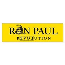 Ron Paul Revolution Bumper Bumper Bumper Sticker