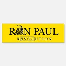 Ron Paul Revolution Bumper Car Car Sticker