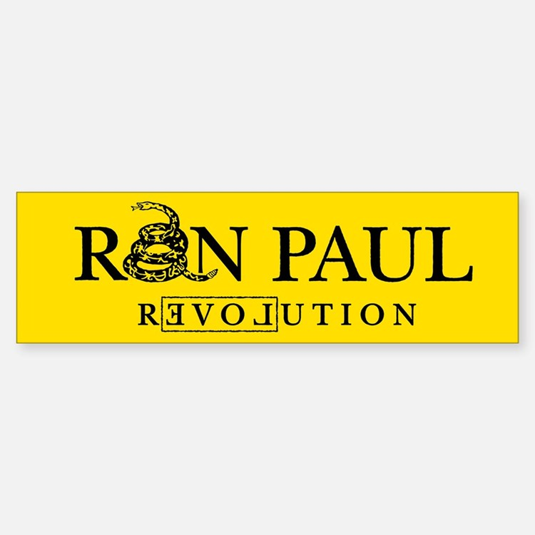 Ron Paul Revolution Bumper Car Car Sticker