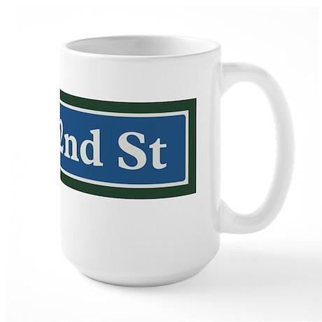 East 42nd Street in NY Large Mug