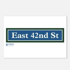 East 42nd Street in NY Postcards (Package of 8)