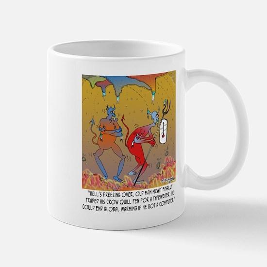 Writing Cartoon 7709 Mug