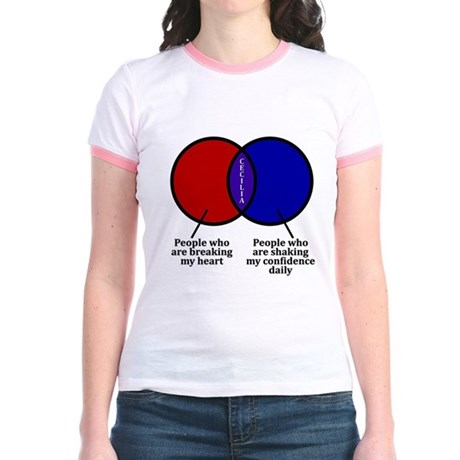 HIMYM Cecilia Jr. Ringer T-Shirt