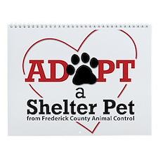 Shelter Dog Photos-FCAC Wall Calendar