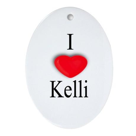 Kelli Oval Ornament