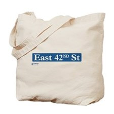 East 42nd Street in NY Tote Bag