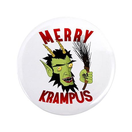 """Krampus 3.5"""" Button"""