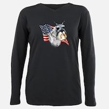 Schnauzer Flag T-Shirt