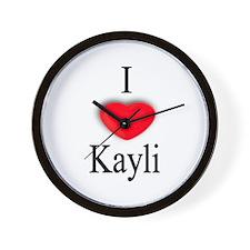 Kayli Wall Clock