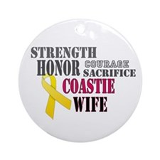 Coastie Wife Christmas Ornament