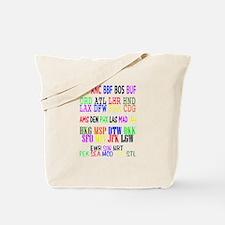 Airport Code Tote Bag