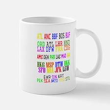 Airport Code Mug