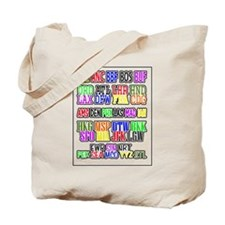 Airport Code1 Tote Bag