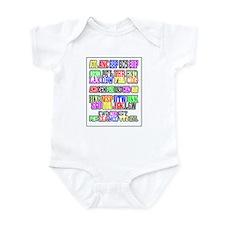 Airport Code1 Infant Bodysuit