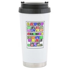 Airport Code1 Travel Mug