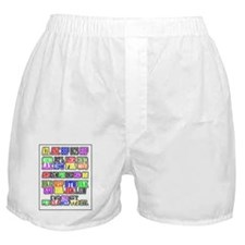 Airport Code1 Boxer Shorts