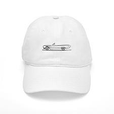 1965 Ford Thunderbird Convertible Baseball Cap