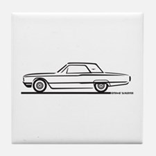 1964 Ford Thunderbird Hardtop Tile Coaster