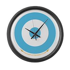 Argentina Large Wall Clock