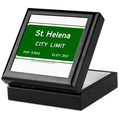 St. Helena Keepsake Box