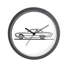 1966 Ford Thunderbird Hardtop Wall Clock
