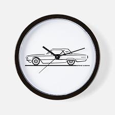 1966 Ford Thunderbird Hardtop Wall Clock