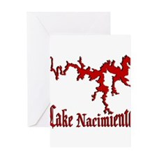 NACI (822 CRIMSON) Greeting Card
