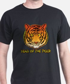 Year of the Tiger Portrait T-Shirt