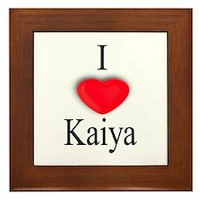 Kaiya Framed Tile