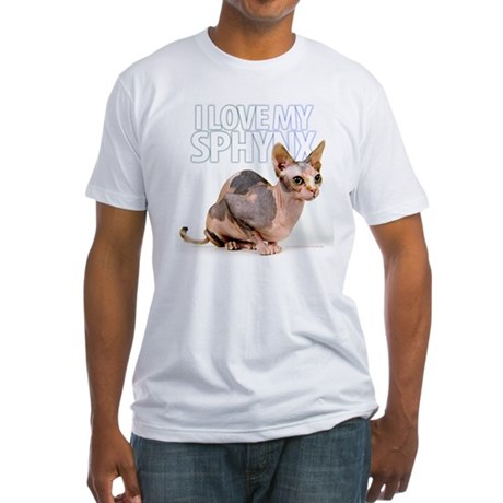 Sphynx Fitted T-Shirt