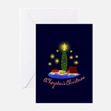 A Kayaker's Christmas Greeting Cards (Pk of 20)