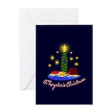 A Kayaker's Christmas Greeting Card