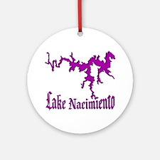 NACI (822 PURPLE) Ornament (Round)