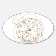 Untimely Perceptions Oval Decal