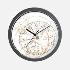 Untimely Perceptions Wall Clock