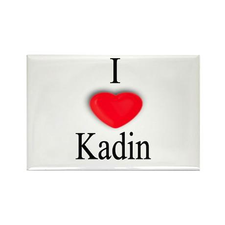 Kadin Rectangle Magnet (10 pack)