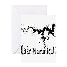NACI (822 BLACK) Greeting Card