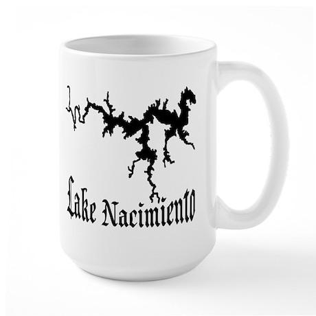 NACI (822 BLACK) Large Mug