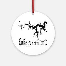 NACI (822 BLACK) Ornament (Round)