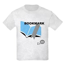 D-Lip Bookmark T-Shirt (Kids Light)