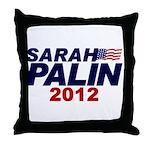 Sarah Palin Throw Pillow