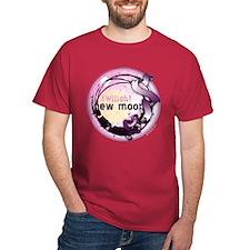 New Moon Grunge Ribbon Crest T-Shirt