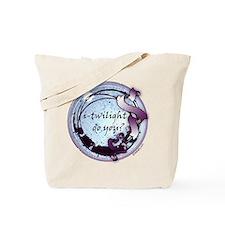i-twilight do you? Moonlight Ribbon Crest Tote Bag