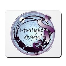 i-twilight do you? Moonlight Ribbon Crest Mousepad
