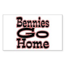 Go Home Bennies Decal